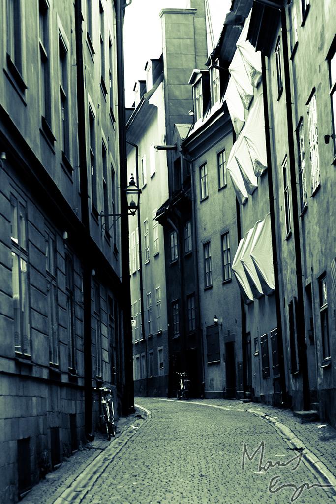 Gränd i gamla stan - Stockholm