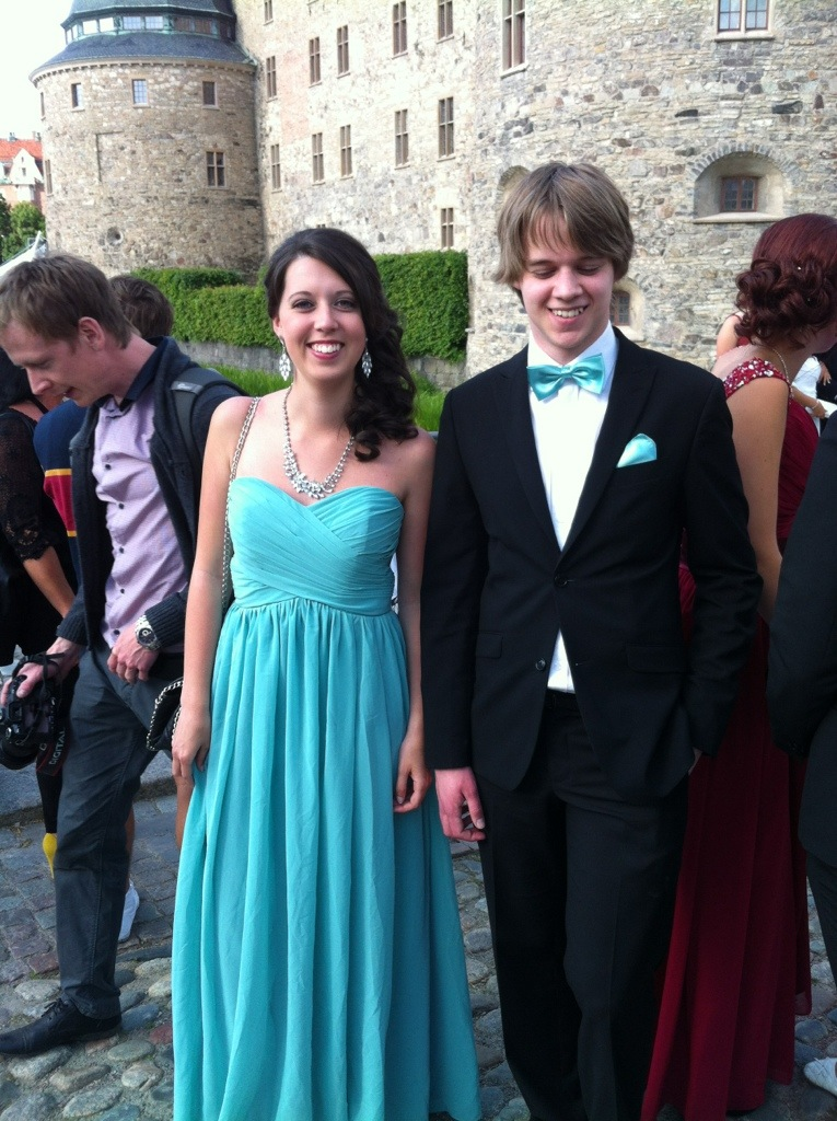 Par innan Studentbal - Örebro Slott