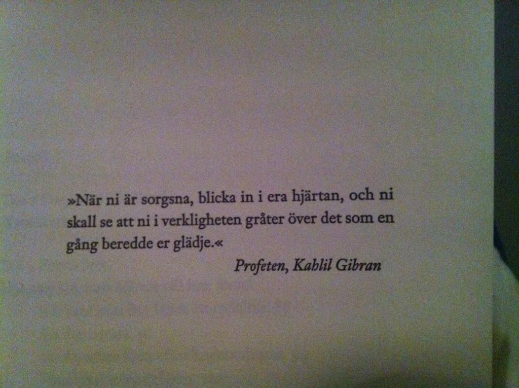 Citat från Kahlil Gibran